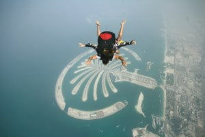 Dubai Skydiving over Palm Jumeirah