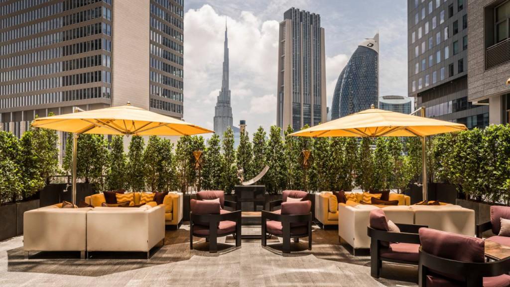 Dubai Four Seasons IFC 3 Penrose Lounge