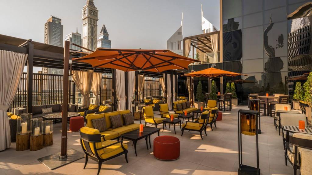 Dubai Four Seasons IFC Centre2 Luna Sky Bar