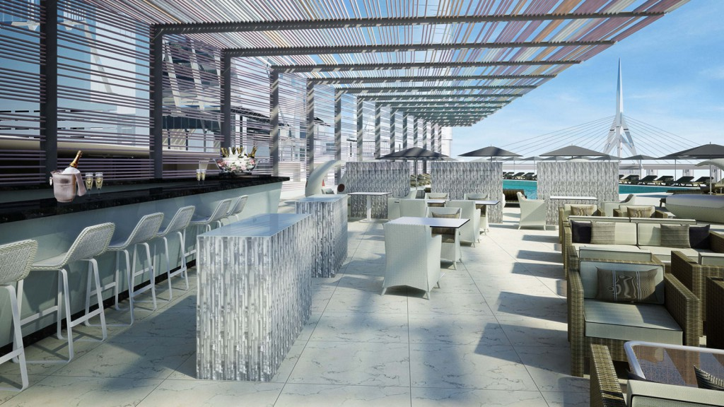 Abu Dhabi Four Seasons Hotel Abu Dhabi at Al Maryah Eclipse Terrace Lounge