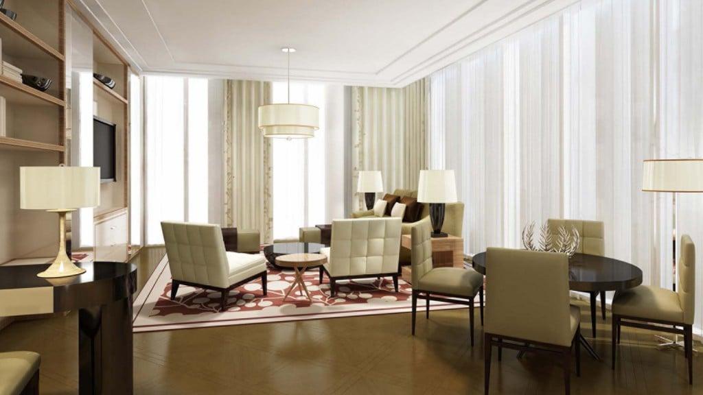 Abu Dhabi Four Seasons Hotel Abu Dhabi at Al Maryah Executive Suite
