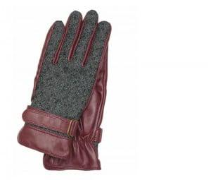 Otto Kessler Handschuhe Utility Chic weinrot