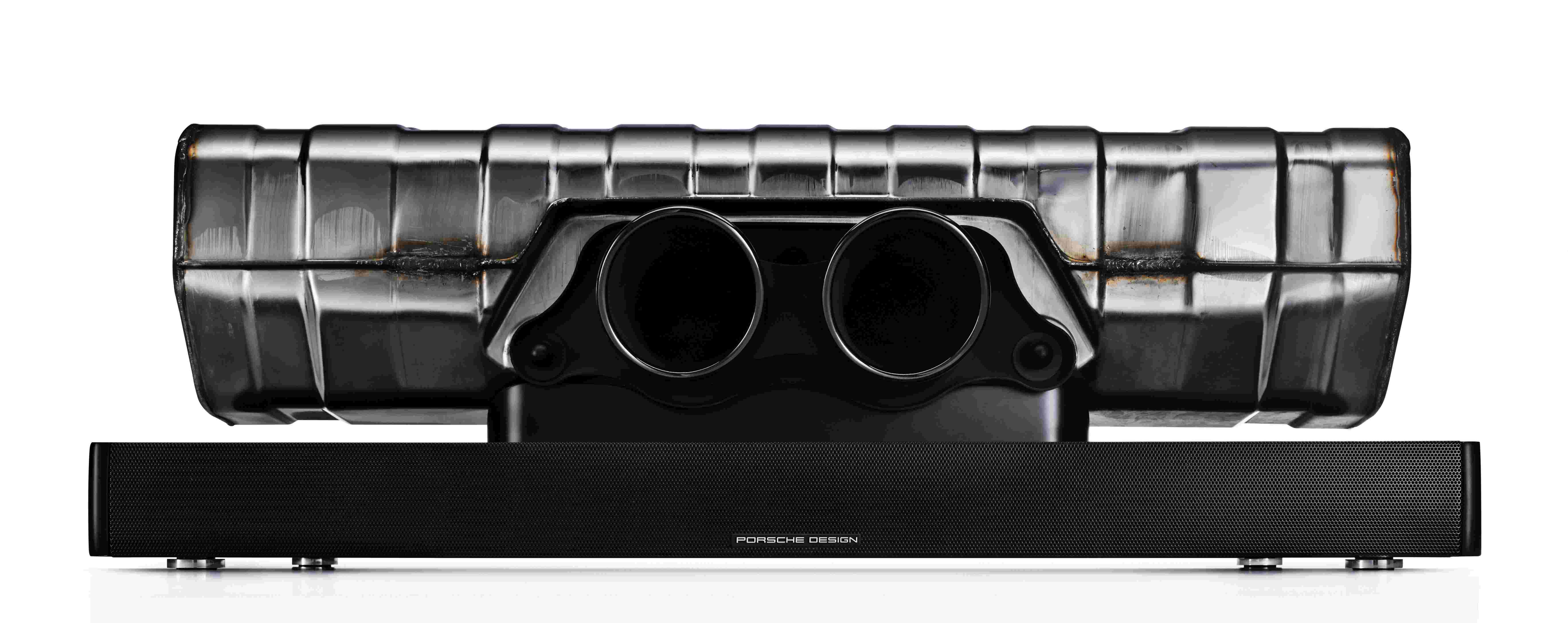 porsche design soundbar einzigartiges home soundsystem. Black Bedroom Furniture Sets. Home Design Ideas
