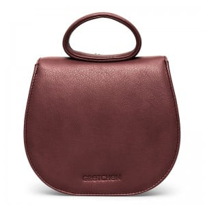 gretchen-ebony-mini-loop-bag-oxblood-red-silver