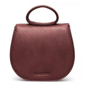 gretchen-ebony-mini-loop-bag-oxblood-red-silver
