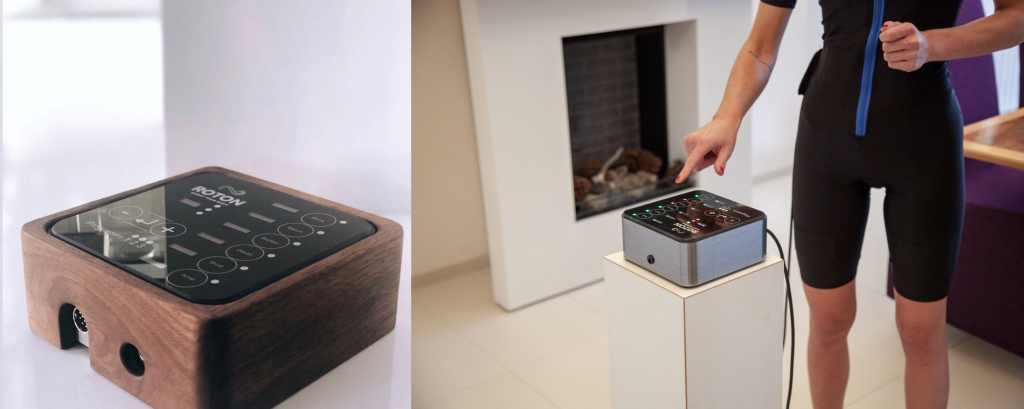 Mobile Ems-Geräte mit Design-Charakter