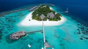 Mirihi-Island-Aerial 2